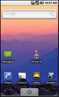 DIY Just Sit for Android